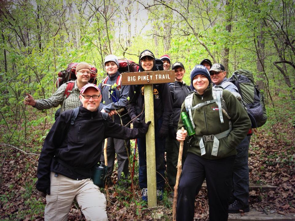 Big Piney Trail (Missouri) May 2013