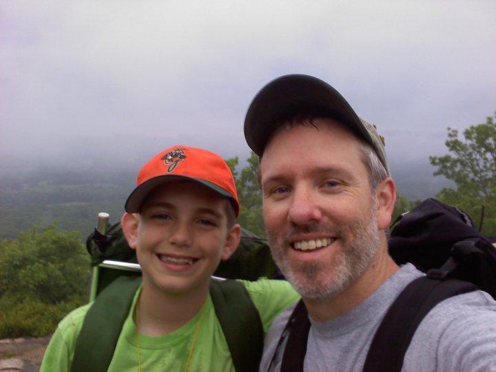 Dowdell Knob: Pine Mountain Trail (Georgia) March 2010