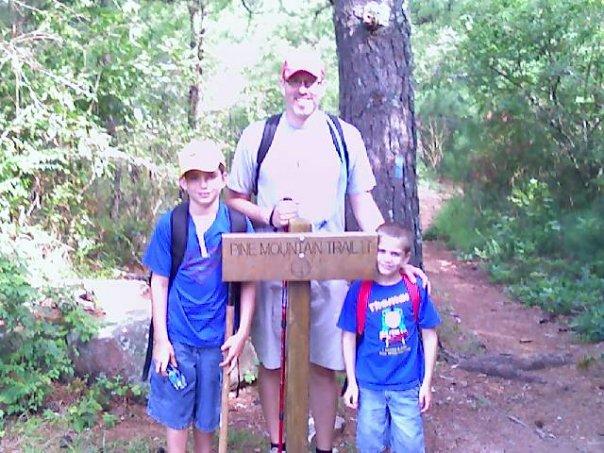 Pine Mountain Trail day hike 2008