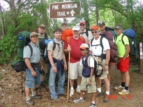 pine mountain trail 2008