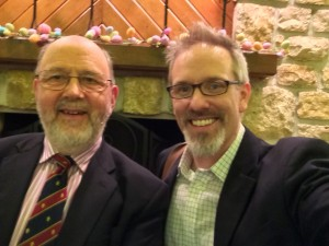 Me and Tom, my theological mentor